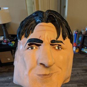 Charlie Sheen face mask